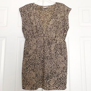 Motherhood Maternity Leopard Blouse